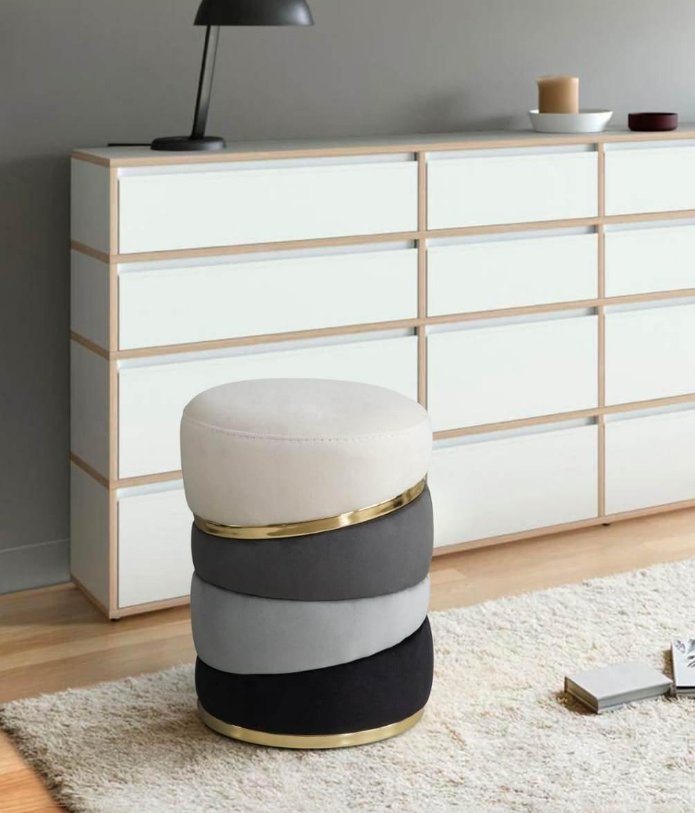 mobilya kervanı Lüx Dekoratif Puf,özel Tasarım Puf ,makyaj Masası Pufu